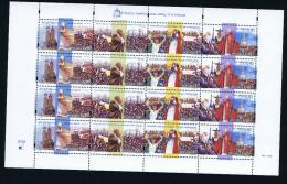 Poland: Mi  3768 - 3771  MNH /**, 1999 - Blokken & Velletjes