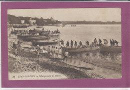 06.- JUAN-LES-PINS .- Débarquement De Marins - Juan-les-Pins