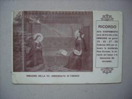 Cartolina Ricordo - Immagine Della Ss. Annunziata Di Firenze 1915 - Non Classificati