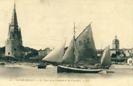 La Rochelle  La Tour De La Lanterne Et Les Chantiers    Cpa - La Rochelle