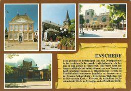 1 AK Niederlande * Chronikkarte Von Enschede Auf Holländisch * - Enschede