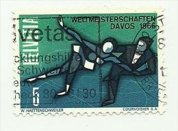 1965 - Svizzera 755 Mondiali A Davos C3035, - Pattinaggio Artistico