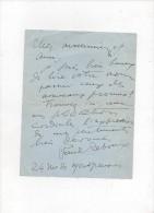 L.A.S.paul REBOUX.lettre à André CORNU. Pour Le Féliciter Pour Sa Promotion.6-VII-193.une Page.9 Lignes - Autographes