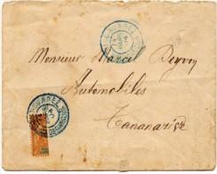 MADACASCAR : N° 86 DEMI-TIMBRE OBL. DIEGO SUAREZ - De 1904 - Covers & Documents