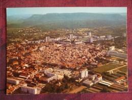 """BAGNOLS SUR CEZE (30).VUE  AERIENNE: """" LA CITE ATOMIQUE """"   . ANNEES  1970-80 - Bagnols-sur-Cèze"""