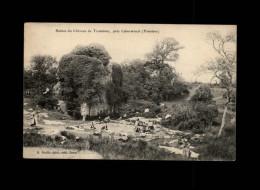 29 - L´ABERWRACH - Ruines Du Château De Troménec - Lavoir - Lavandière - Autres Communes