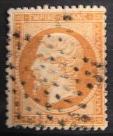 FRANCE - 1862 NAPOLEON III 10c BISTRE N° 21  OBLITERE - BON ETAT - 1862 Napoleon III