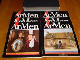 ARMEN, N° 1 , 2, 3, 4, 5, 6 + Boitage : La Bretagne, Un Monde à Découvrir - Bretagne