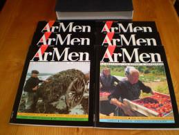 ARMEN, N° 7 , 8, 9, 10, 11, 12  + Boitage : La Bretagne, Un Monde à Découvrir - Bretagne