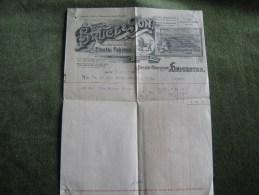 Bruce & Son-Successors To H.Turner & Son,Manufacturers Of Elastic Fabrics 1914 - United Kingdom