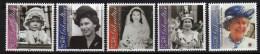 Gibraltar N°  967 / 71 XX  75ème Anniversaire De S. M. La Reine Elisabeth II.  Les 5  Valeurs  Sans Charnière,  TB - Gibilterra