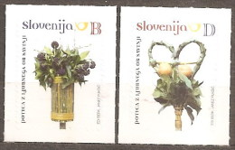 SLOVENIA 2010 EASTER  PALM SUNDAY ARRANGEMENTS SA  SET MNH - Slovenia