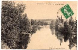 CP, 37, LA GUERCHE, La Creuse En Amont, Voyagé En 1912 - Unclassified