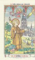 San Guido O.P.N., Con Preghiera   Al Retro - Andachtsbilder