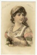 Portrait De Gitane Avec Tambourin - Mujeres