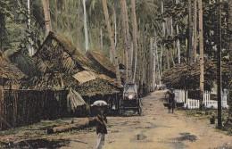 Singapour - Singapore - Tanjong Kalong Village - Postal Mark Singapore 1906 Cauvigny Oise - Singapour