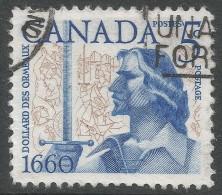 Canada. 1960 Tercentenary Of Battle Of The Long Salt. 5c Used - 1952-.... Reign Of Elizabeth II