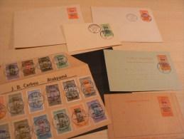Lot De Documents TOGO Français - 1916 / 18 - Togo (1914-1960)