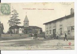 Laneuville Aux Bois     Eglise Et Maison Communale - Other Municipalities