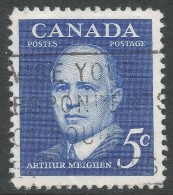 Canada. 1961 Arthur Meighen Commemoration. 5c Used - 1952-.... Reign Of Elizabeth II