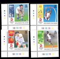 Solomon Islands Beijing Olympics VF Et Of 4 Mint NH                              2/14 - Solomon Islands (1978-...)