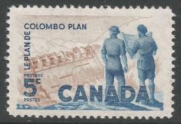 Canada. 1961 Tenth Anniv Of Columbo Plan. 5c Mint Hinged - 1952-.... Reign Of Elizabeth II