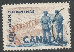 Canada. 1961 Tenth Anniv Of Columbo Plan. 5c Used - 1952-.... Reign Of Elizabeth II