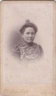 FOTOGRAFIA PHOTOGRAPHY RITRATTO D´EPOCA ANTE 1900- 6,20 X 10,50-PHOTOGRAPHE-L.GIMBERT LYON - Foto