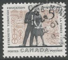 Canada. 1962 Education Year. 5c Used - 1952-.... Reign Of Elizabeth II