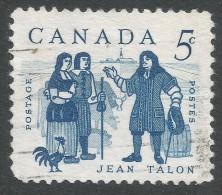 Canada. 1962 Jean Talon Commemoration. 5c Used - 1952-.... Reign Of Elizabeth II