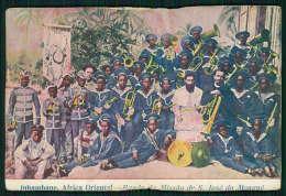INHAMBANE / MOÇAMBIQUE Postal África Oriental Banda Da Missão De S. José Do Mongué. Old Postcard - Mozambique