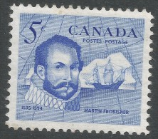 Canada. 1963 Sir Martin Frobrisher Commemoration. 5c MH - 1952-.... Reign Of Elizabeth II