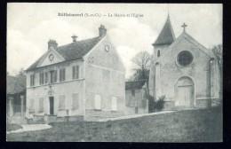 Cpa Du  95  Béthemont  La Mairie Et L´ église  ...  Taverny  BCH16 - Taverny