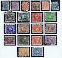 Poland. Ausgabe Für Ostoberschlesien: 1922, Reguläre Ausgaben 1-20 Two Sereis MH/* Or (*) - ....-1919 Provisional Government