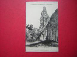 CPA  61  ORNES   RUINES DE L'ABBAYE DE ST EVROULT NOTRE DAME DU BOIS  COTE DU CHAPITRE  VUE PRISE EN 1850   NON VOYAGEE - Autres Communes