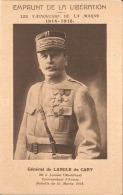 EMPRUNT DE LA LIBERATION - Les Vainqueurs De La Marne 1914-1918 - Général De LANGLE De CARY - Bon état - Weltkrieg 1914-18