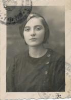 REAL PHOTO, School Girl Portrait, With School Cap 3 Classes, Fille,  Old Photo ORIGINAL , - Retratos