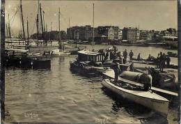 Ref 199- Authentique Photo- Paris A La Mer -l Arrivee Des Canots Au Port Du Havre -seine Maritime  - - Photographs