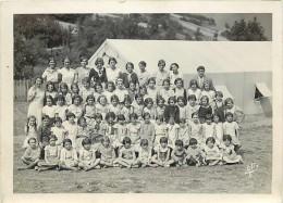 Ref 198- Authentique Photo- Photographe Alix  -bagneres De Bigorre- Hautes Pyrenees - Camp De Vacances -scouts ? - Photographs