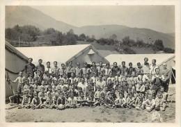 Ref 197- Authentique Photo- Photographe Alix  -bagneres De Bigorre- Hautes Pyrenees - Camp De Vacances -scouts ? - Photos