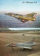 2 Cartes Du Mirage III. Marcel Dassault. - 1946-....: Modern Tijdperk