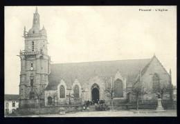 Cpa Du 22 Plouaret  L´ église   ...  édition Hamon Guingamp    BCH14 - Plouaret