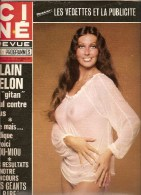 CINE REVUE. N° 48. Novembre 1975. Marilyn COLE, MIOU-MIOU, Stefanie MARRIAN, Alfred HITCHCOCK, Enrico MACIAS - Cinema