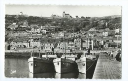 CPSM - Fécamp - Le Bassin Et La Côte De La Vierge - Fécamp