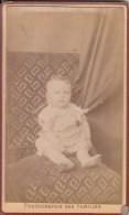 "FOTOGRAFIA PHOTOGRAPHY RITRATTO D´EPOCA ANTE 1900/1920- 6,20 X 10,50-PHOTOGRAPHE ""FAMILLES"" LYON - Foto"