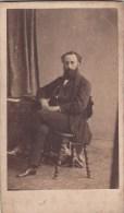 """FOTOGRAFIA PHOTOGRAPHY RITRATTO D´EPOCA ANTE 1900/1920- 6,20 X 10,50-PHOTOGRAPHE """""""" - Foto"""