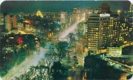 MEXICO, D.F. - Hotel Continental Hilton - Vista Nocturna - Mexique