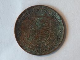 JERSEY 1/12 SHILLING 1660-1960 - Jersey