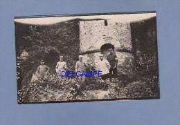 Photo Ancienne - Lieu à Identifier - Groupe D' Officiers Poilus - Général Marchand - WW1 - War, Military