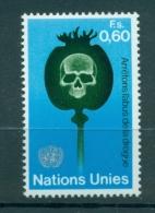 Nations Unies Géneve 1973 - Michel N.32 -  Arretons L'abus De La Drogue - Ginebra - Oficina De Las Naciones Unidas